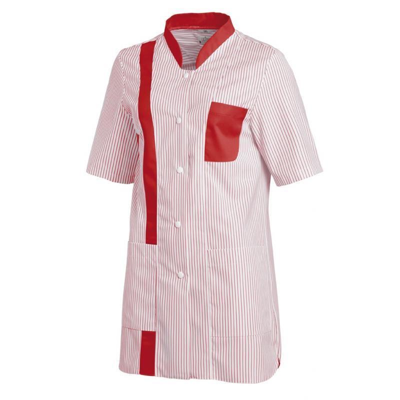 Damen -  Hosenkasack 634 von LEIBER / Farbe: weiß-rot / 65 % Polyester 35 % Baumwolle - | MEIN-KASACK.de | kasack | kasa