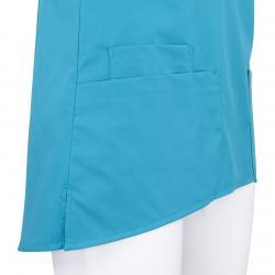 Kasack 2373 von BEB / Farbe: dunkeltürkis / 49% Baumwolle 48% Polyester 3% Elastolefin - | Wenn Kasack - Dann MEIN-KASAC