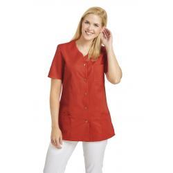 Damen -  Kasack 2549 von Leiber / Farbe: lobster / 65 % Polyester 35 % Baumwolle 190 g/m² - | MEIN-KASACK.de