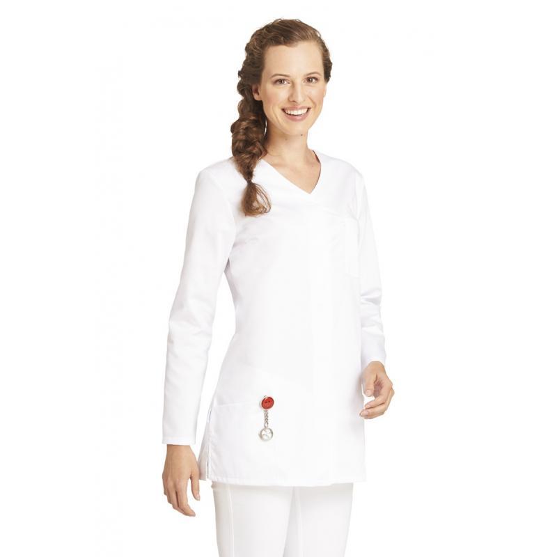 Damen -  Hosenkasack 2500 von LEIBER / Farbe: weiß / 65% Polyester 35% Baumwolle ca. 190 g/m² - | MEIN-KASACK.de