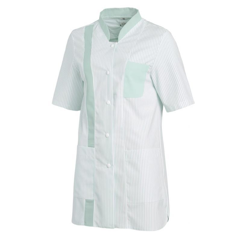 Damen -  Hosenkasack 634 von LEIBER / Farbe: weiß-mint / 65 % Polyester 35 % Baumwolle - | MEIN-KASACK.de | kasack | kas