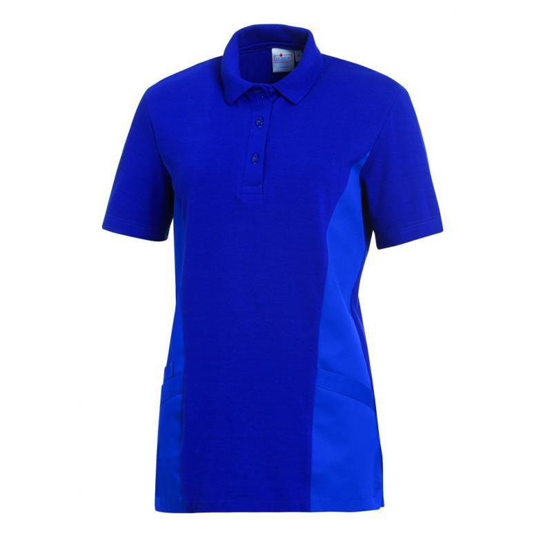 Schlupfjacke - Polo - 2546 von LEIBER / Farbe: königsblau / 50 % Baumwolle 50 % Polyester - | Wenn Kasack - Dann MEIN-KA