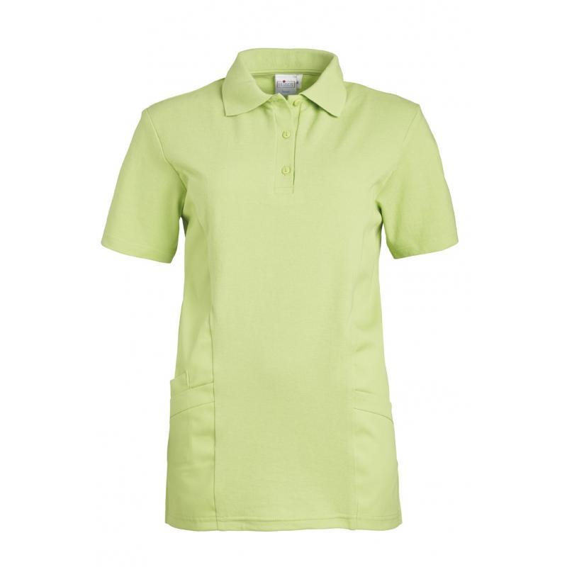 Schlupfjacke - Polo - 2546 von LEIBER / Farbe: hellgrün / 50 % Baumwolle 50 % Polyester - | Wenn Kasack - Dann MEIN-KASA
