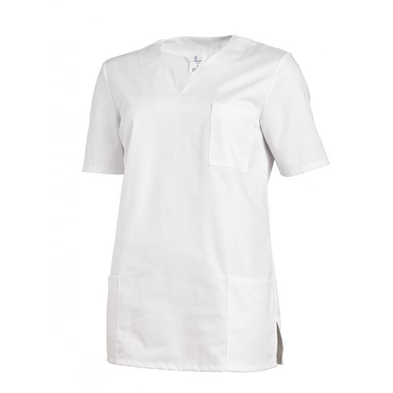 Schlupfjacke 1249 von LEIBER / Farbe: weiß / 65 % Polyester 35 % Baumwolle - | Wenn Kasack - Dann MEIN-KASACK.de | Kasac
