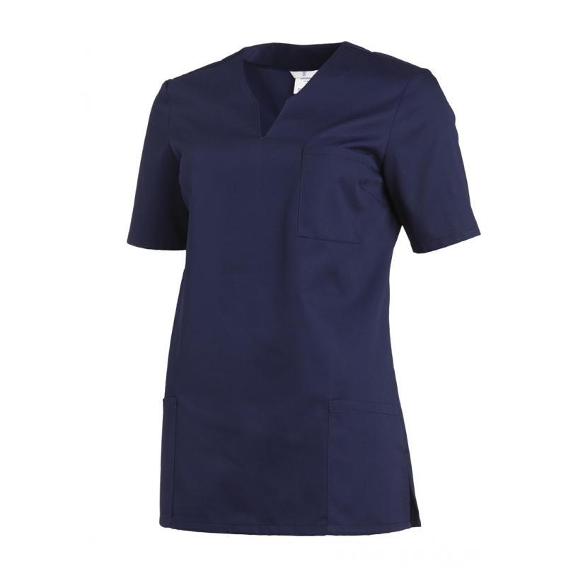 Schlupfjacke 1249 von LEIBER / Farbe: marine / 65 % Polyester 35 % Baumwolle - | Wenn Kasack - Dann MEIN-KASACK.de | Kas