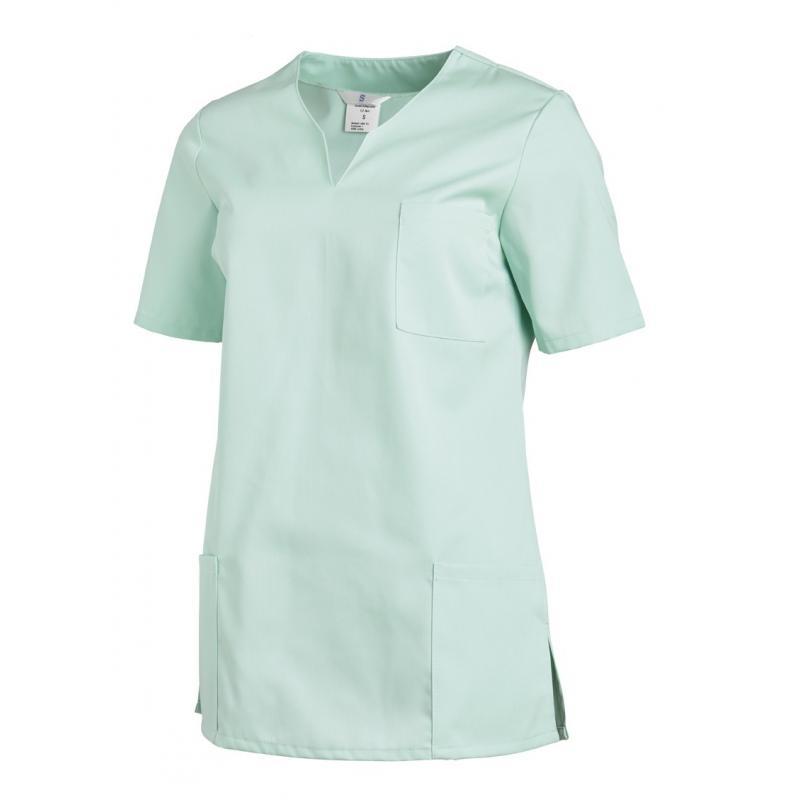 Schlupfjacke 1249 von LEIBER / Farbe: mint / 65 % Polyester 35 % Baumwolle -   Wenn Kasack - Dann MEIN-KASACK.de   Kasac