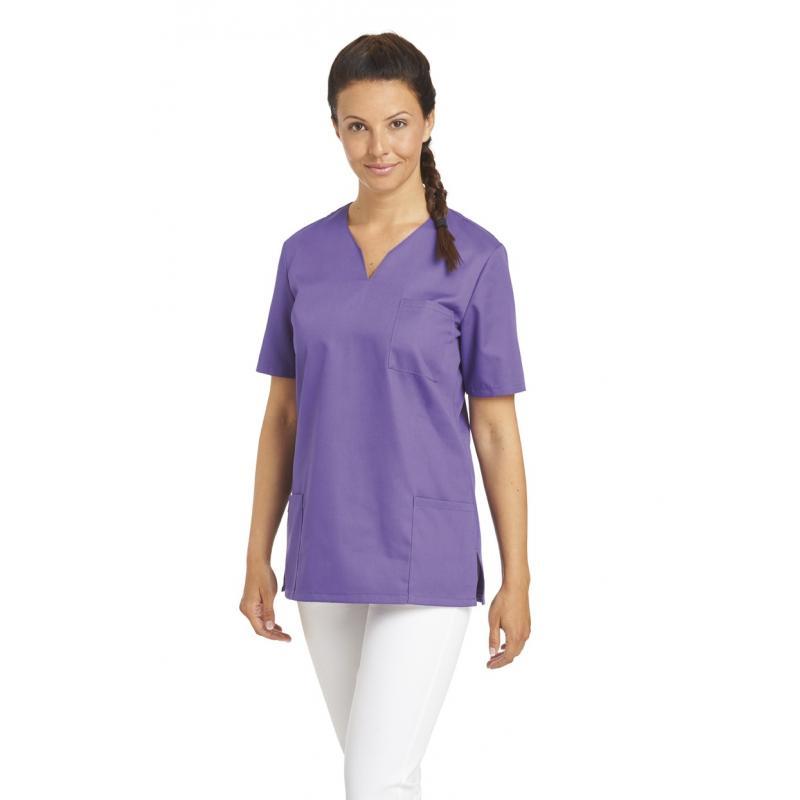 Damen -  Schlupfjacke 1249 von LEIBER / Farbe: lila / 65 % Polyester 35 % Baumwolle - | MEIN-KASACK.de