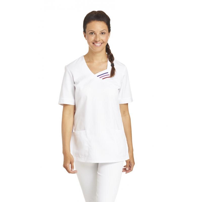Schlupfjacke 585 von LEIBER / Farbe: weiß / 65 % Polyester 35 % Baumwolle - | MEIN-KASACK.de
