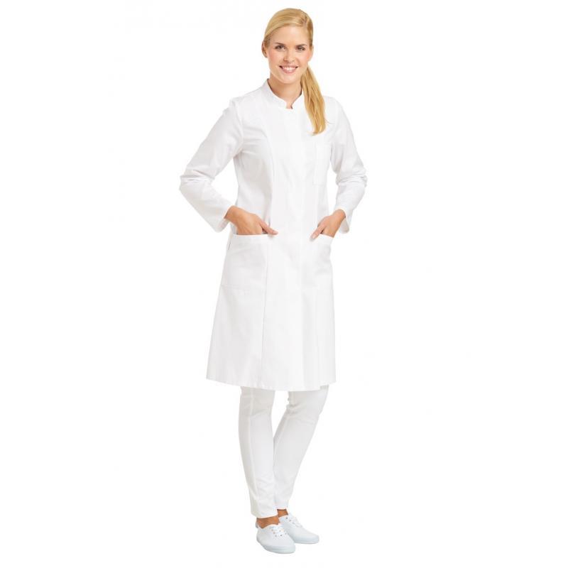 Damenmantel 5790 von LEIBER / Farbe: weiß / 100 % Baumwolle - | MEIN-KASACK.de