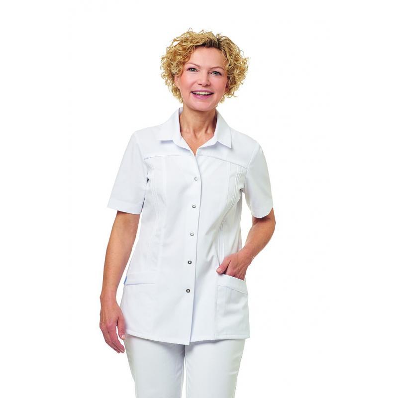 Damen -  Kasack 2736 von LEIBER / Farbe: weiß / 65 % Polyester 35 % Baumwolle - | MEIN-KASACK.de | kasack | kasacks | ka