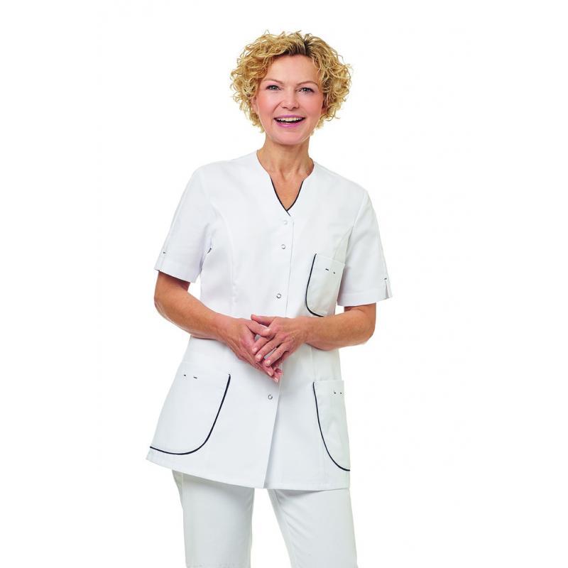 Damen -  Kasack 2739 von LEIBER / Farbe: weiß / 65 % Polyester 35 % Baumwolle - | MEIN-KASACK.de | kasack | kasacks | ka