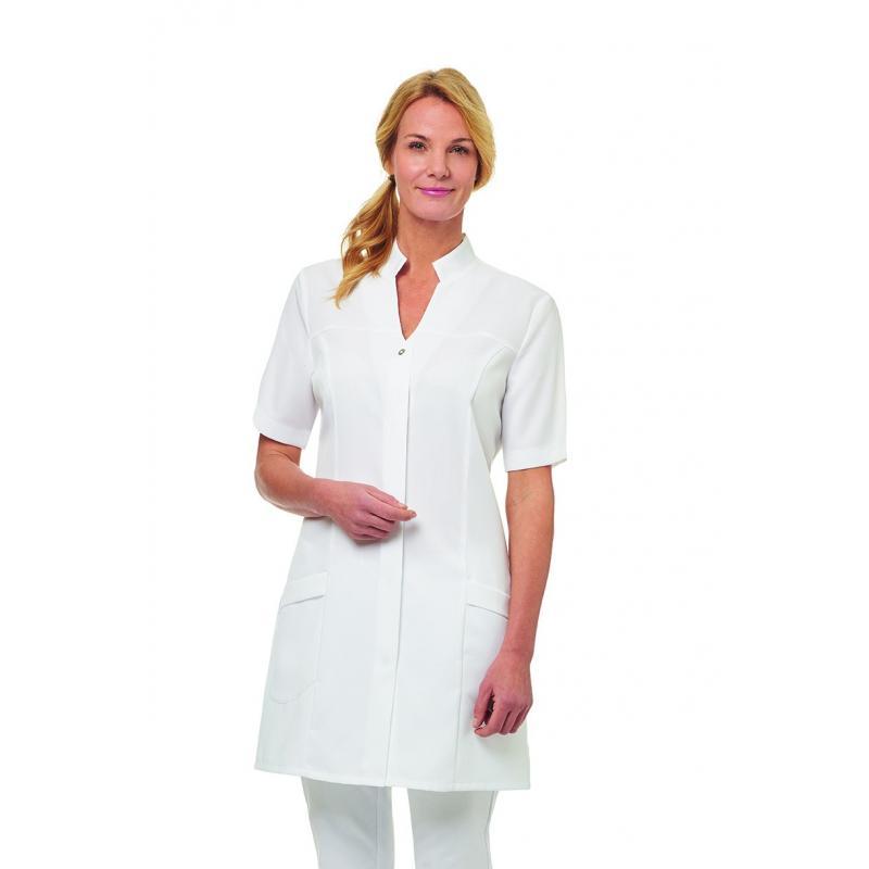 Damenmantel 2744 von LEIBER / Farbe: weiß / 50% Lyocell 50% Polyester - | Wenn Kasack - Dann MEIN-KASACK.de | Kasacks fü