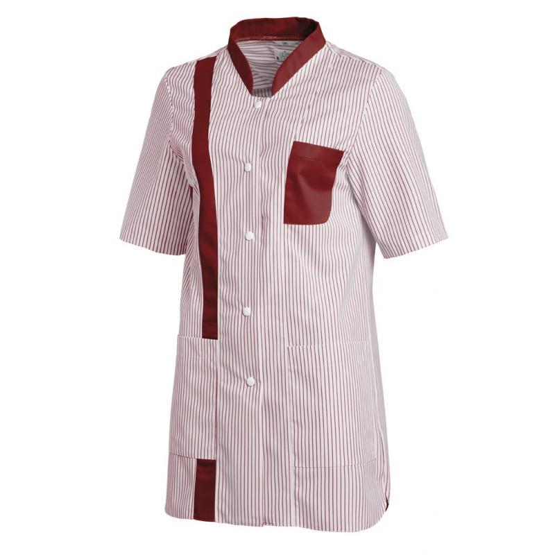 Hosenkasack 634 von LEIBER / Farbe: weiß-bordeaux / 65 % Polyester 35 % Baumwolle - | MEIN-KASACK.de