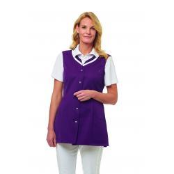 Damen -  Kasack 2759 von LEIBER / Farbe: pflaume / 65 % Polyester 35 % Baumwolle - | MEIN-KASACK.de