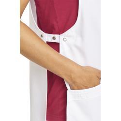 Damen - Überwurfschürze 1227 von LEIBER / Farbe: weiß / 65 % Polyester 35 % Baumwolle - | MEIN-KASACK.de | kasack | kasa