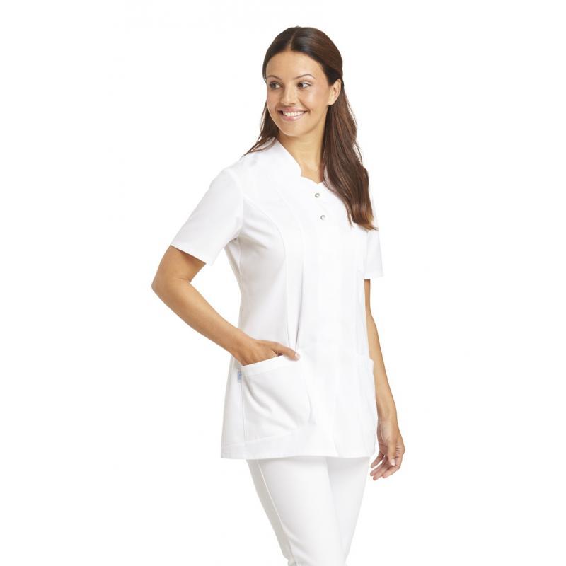 Damen -  Hosenkasack 2505 von LEIBER / Farbe: weiß / 50% Baumwolle 50% Polyester -   MEIN-KASACK.de   kasack   kasacks  