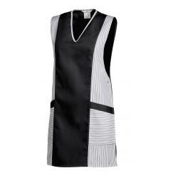 Chasuble 264 von LEIBER / Farbe: weiß-schwarz / 65 % Polyester 35 % Baumwolle - | Wenn Kasack - Dann MEIN-KASACK.de | Ka