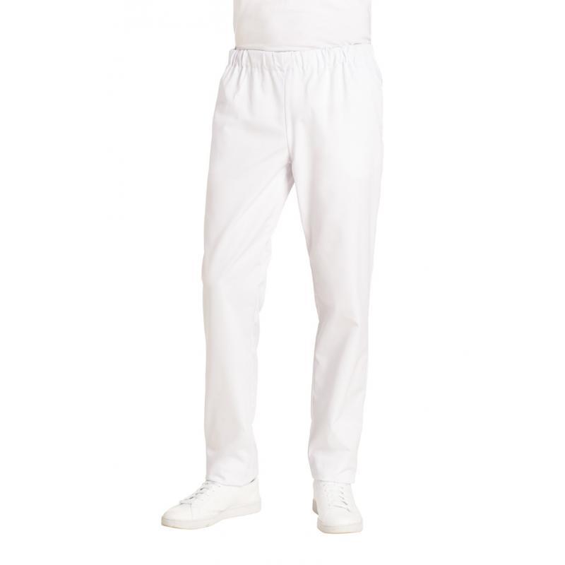Herren-Schlupfhose 6950 von LEIBER / Farbe: weiß / 65 % Polyester 35 % Baumwolle - | MEIN-KASACK.de