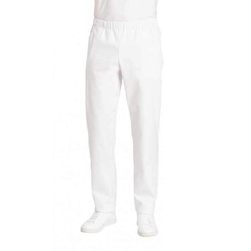 Herren-Schlupfhose 2370 von LEIBER / Farbe: weiß / 65 % Polyester 35 % Baumwolle - | Wenn Kasack - Dann MEIN-KASACK.de |