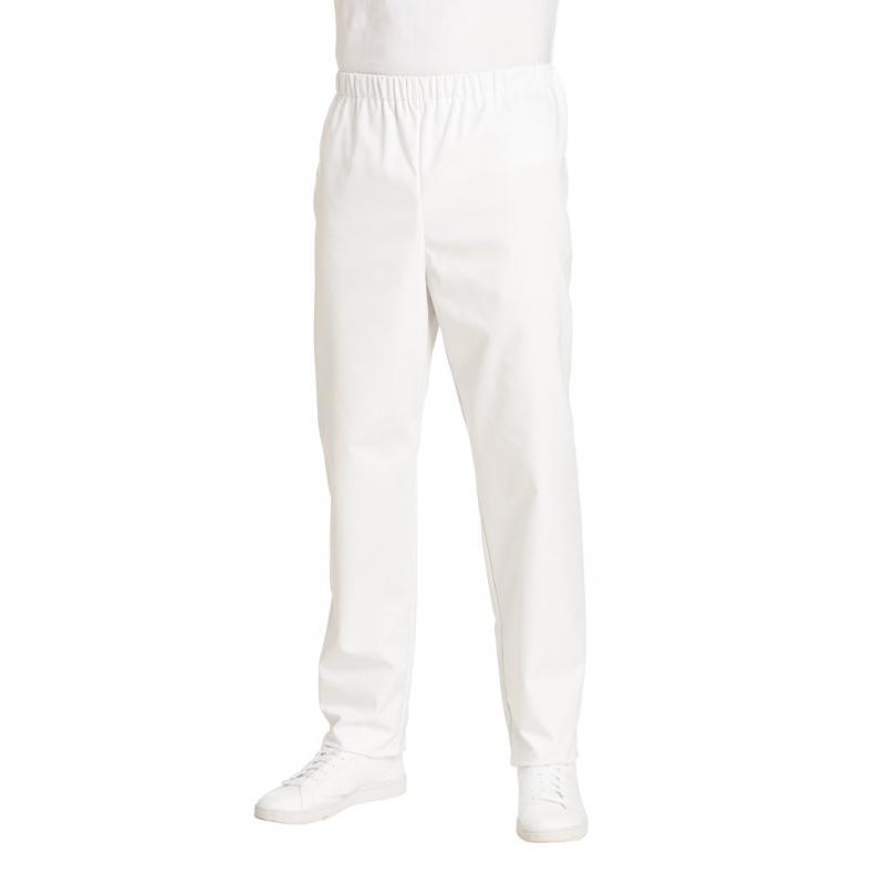 Herren-Schlupfhose 107 von LEIBER / Farbe: weiß / 50 % Baumwolle 50 % Polyester - | Wenn Kasack - Dann MEIN-KASACK.de |