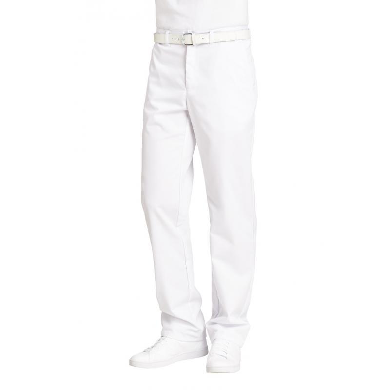 Herrenhose 2120 von LEIBER / Farbe: weiß / 65 % Polyester 35 % Baumwolle - | Wenn Kasack - Dann MEIN-KASACK.de | Kasacks