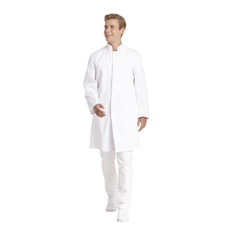 Herrenmantel 9920 von LEIBER / Farbe: weiß / 65 % Polyester 35 % Baumwolle - | Wenn Kasack - Dann MEIN-KASACK.de | Kasac