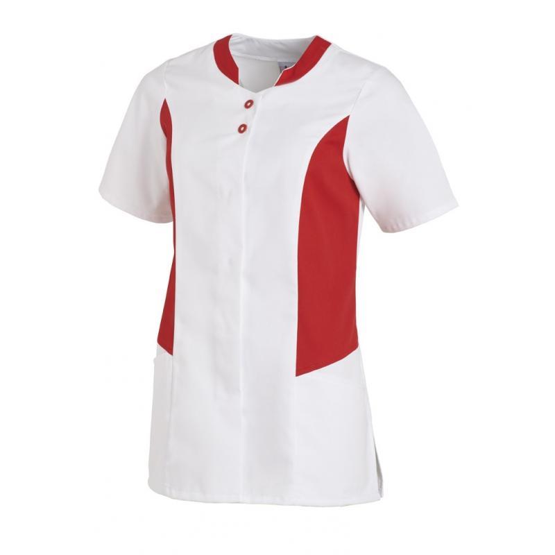 Hosenkasack 25070 von LEIBER / Farbe: weiß-rot / 50 % Polyester 50 % Baumwolle - | Wenn Kasack - Dann MEIN-KASACK.de | K