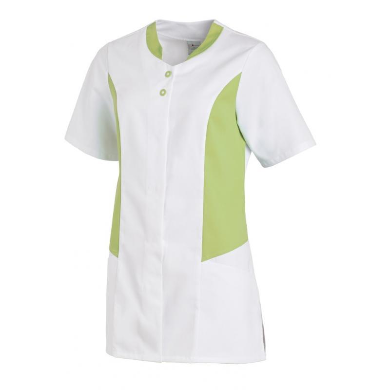 Hosenkasack 25070 von LEIBER / Farbe: weiß-hellgrün / 50 % Polyester 50 % Baumwolle - | Wenn Kasack - Dann MEIN-KASACK.d