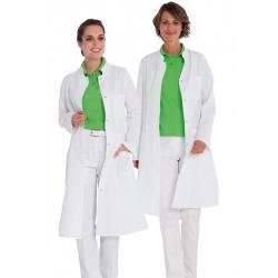 Damenmantel 290 von EXNER / Farbe: weiß / 100% Baumwolle 230g - | Wenn Kasack - Dann MEIN-KASACK.de | Kasacks für die Al