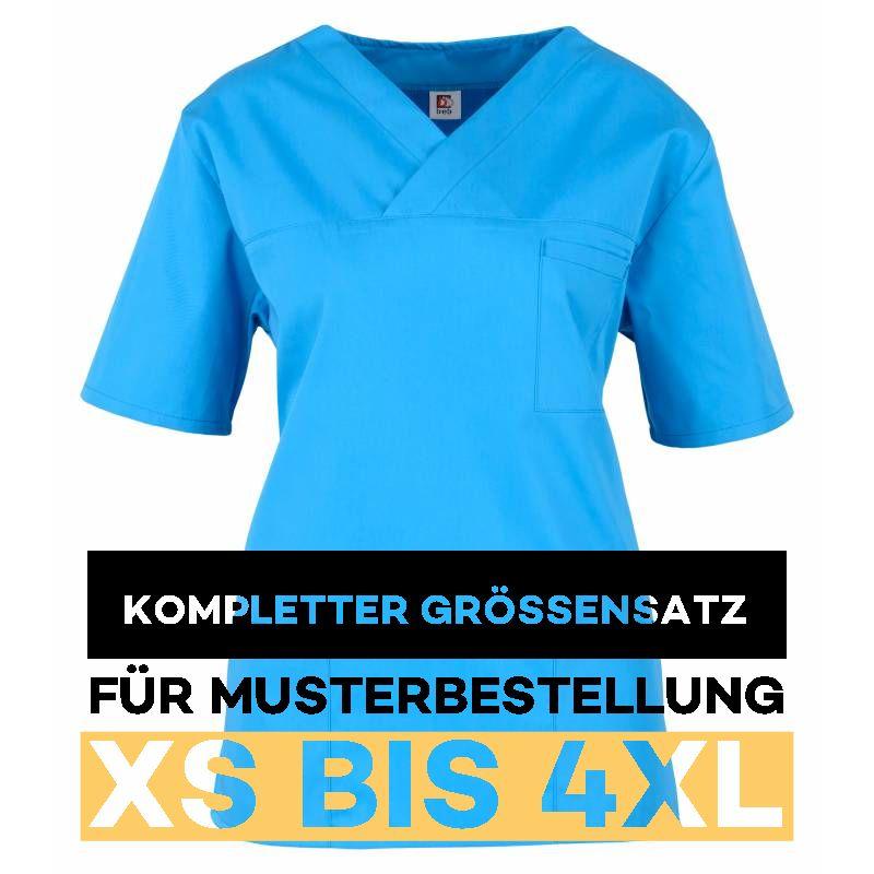 Kompletter Grössensatz - 2651 azur - MEIN-KASACK.de