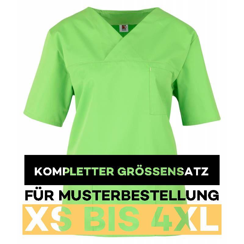 Kompletter Grössensatz - 2651 apple green- MEIN-KASACK.de