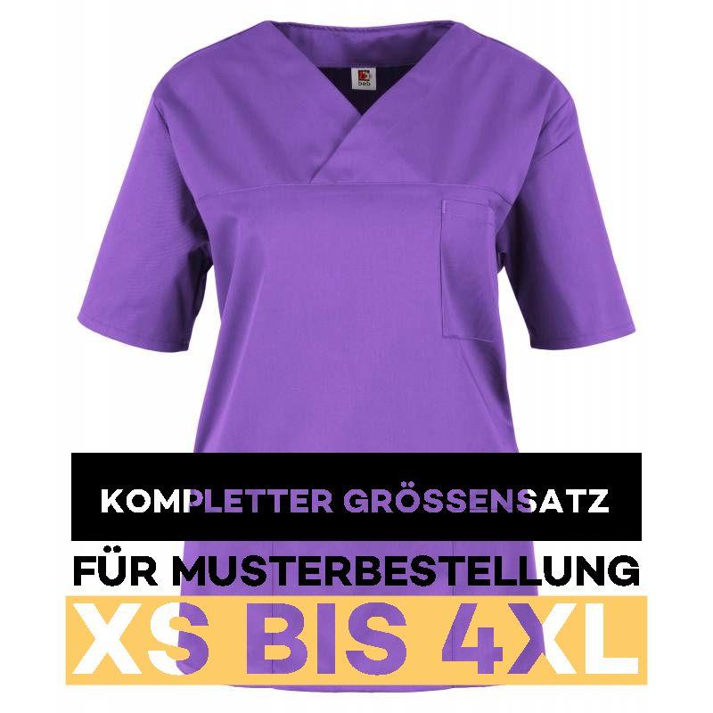 Kompletter Grössensatz - 2651 lila - MEIN-KASACK.de