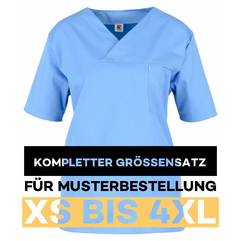 Kompletter Grössensatz - 2651 hellblau - MEIN-KASACK.de
