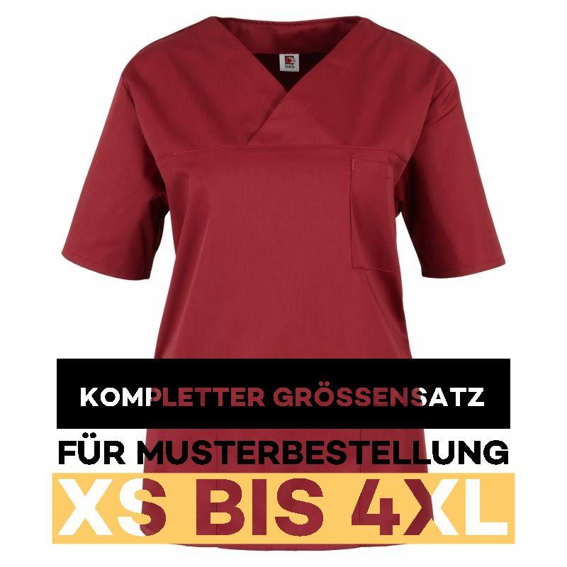 Kompletter Grössensatz - 2651 weinrot - MEIN-KASACK.de