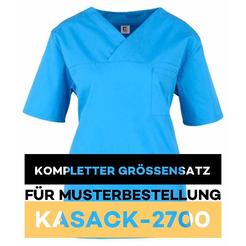 Kompletter Grössensatz - 2700 azur - MEIN-KASACK.de