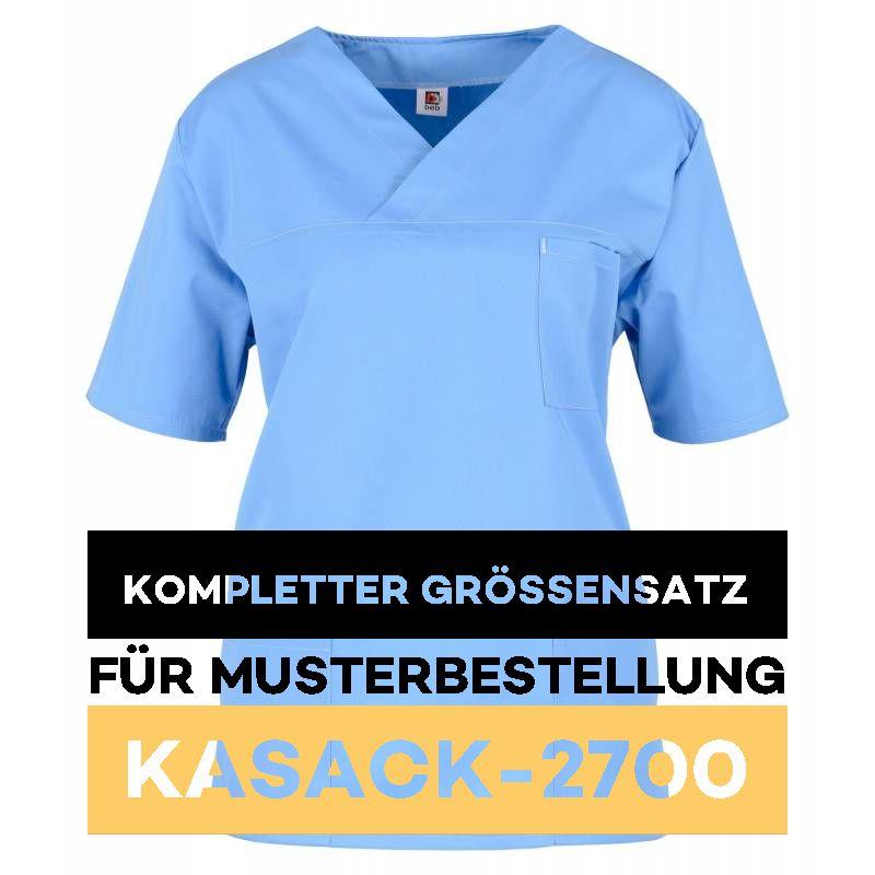Kompletter Grössensatz - 2700 hellblau - MEIN-KASACK.de