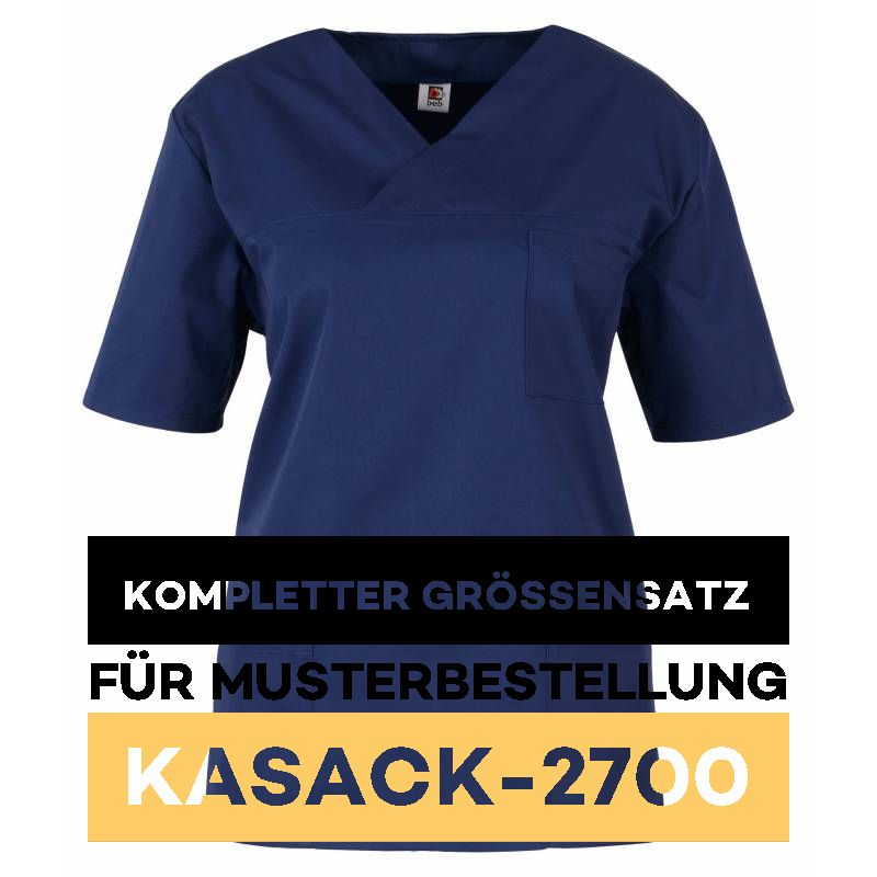 Kompletter Grössensatz - 2700 marine - MEIN-KASACK.de