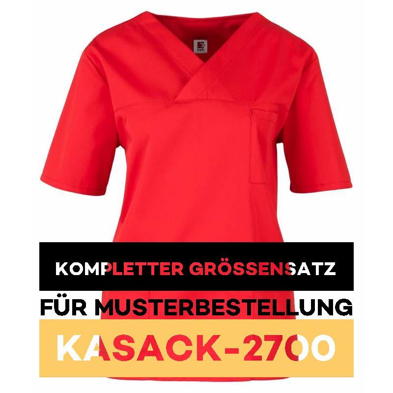Kompletter Grössensatz - 2700 rot - MEIN-KASACK.de