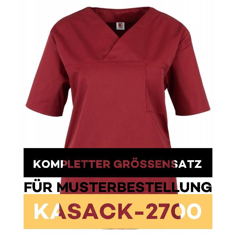 Kompletter Grössensatz - 2700 weinrot - MEIN-KASACK.de