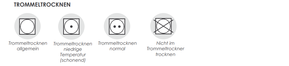 TROMMELTROCKNER SYMBOLE auf MEIN-KASACK.de