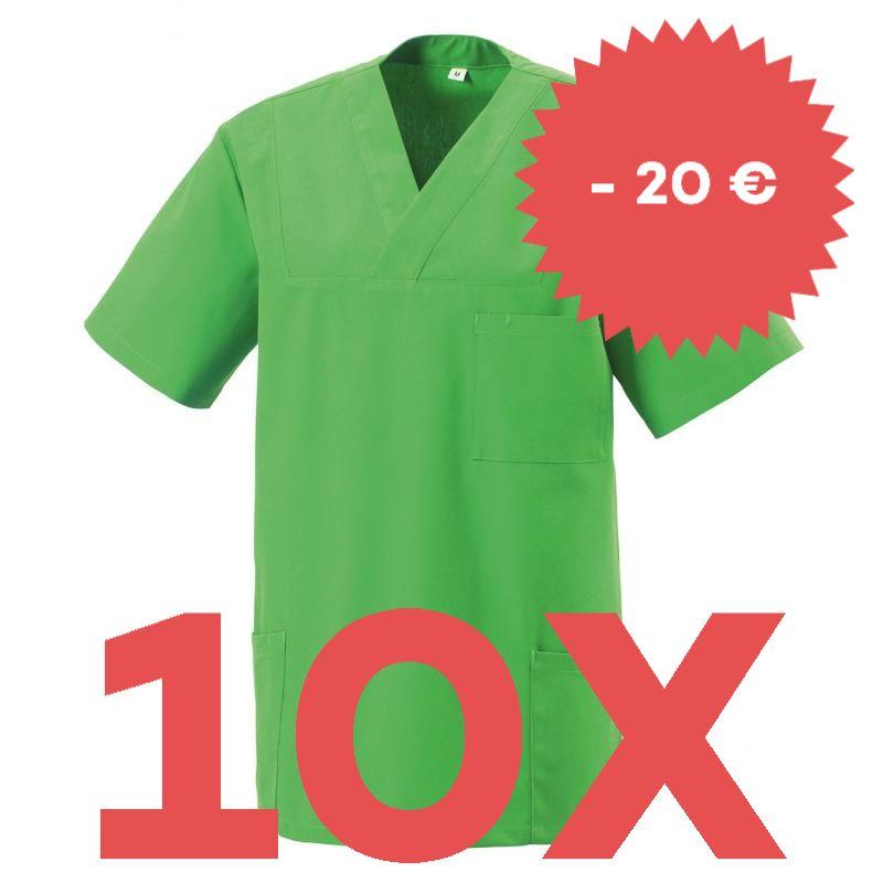 SPARSET: 10X DAMEN - KASACK 273 VON EXNER / FARBE: LEMON GREEN