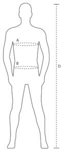 Körpermaße ID SHIRT auf MEIN-KASACK.de