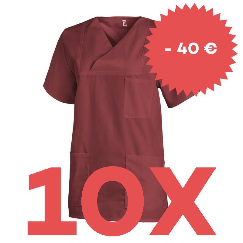 SPARSET: 10X DAMEN-SCHLUPFJACKE 769 VON LEIBER / FARBE: BORDEAUX