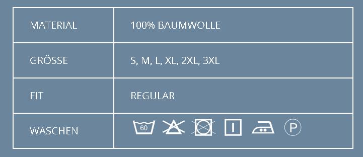 T-Shirt Modell 0500 von ID / 100% bAumwolle