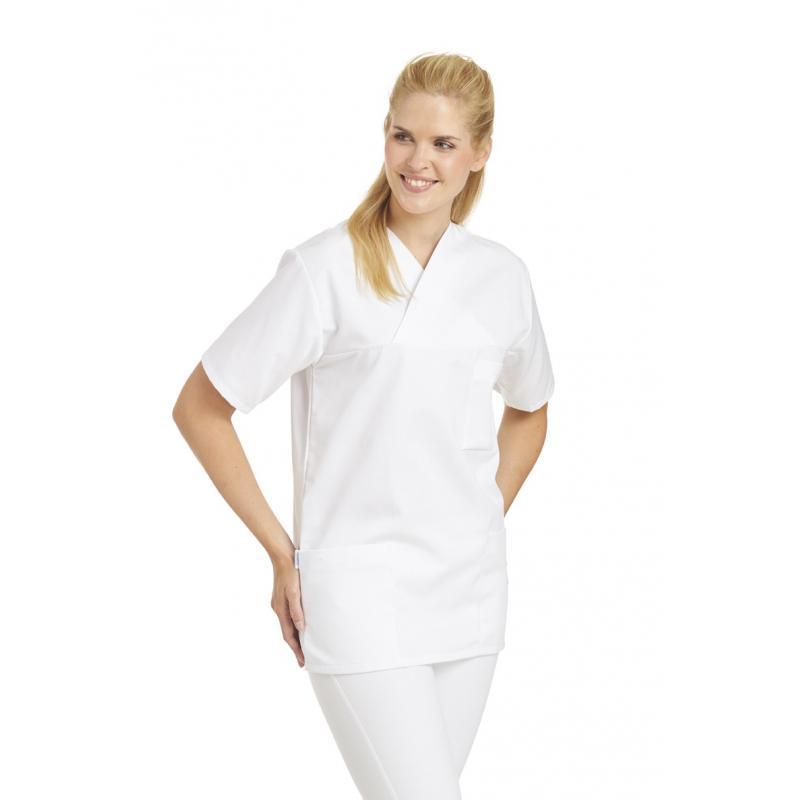 Heute im Angebot: Unisex-Schlupfjacke 106 von LEIBER / Farbe: weiß / 50 % Baumwolle 50 % Polyester in der Region Kloster Lehnin