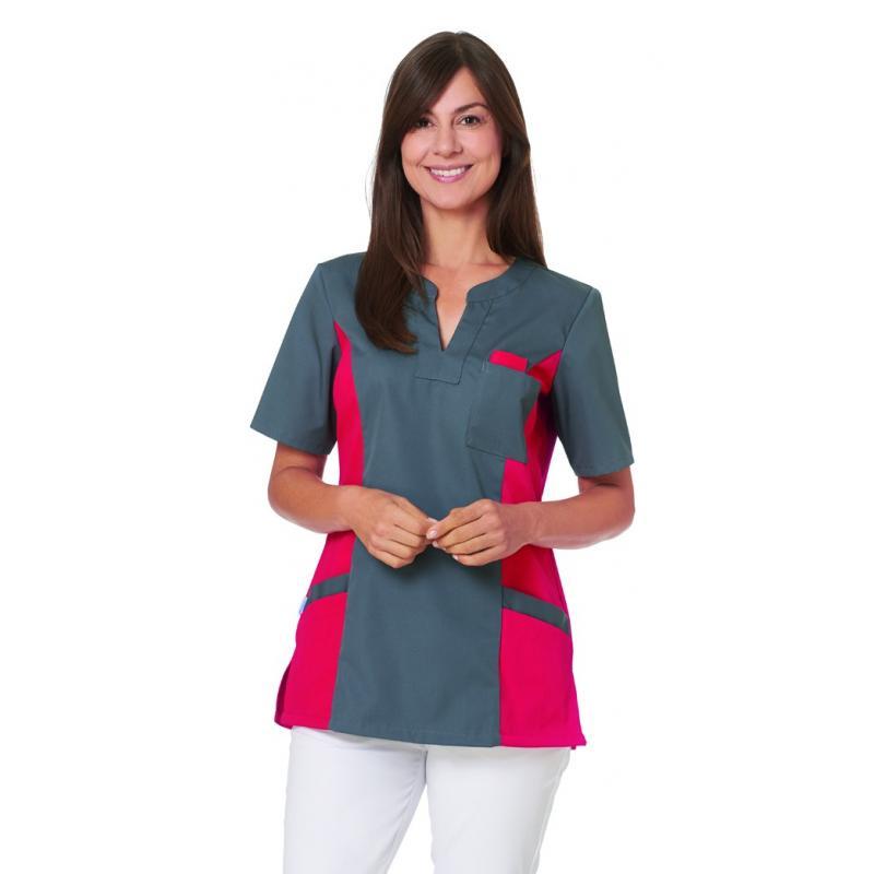 Heute im Angebot: Schlupfjacke 2650 von LEIBER / Farbe: grau-rot / 65 % Polyester 35 % Baumwolle in der Region kaufen