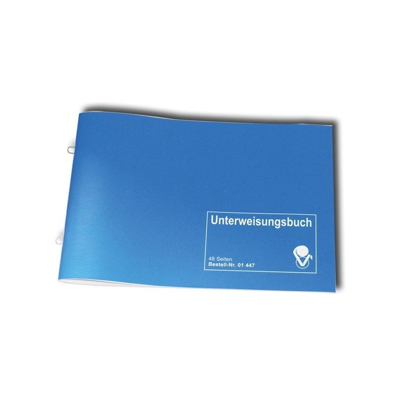 Heute im Angebot: Unterweisungsbuch (DGUV) für Arbeitsschutzunterweisung und Sicherheitsunterweisung