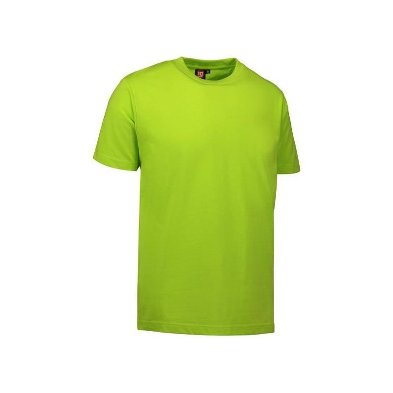 Heute im Angebot: PRO Wear Herren T-Shirt 300 von ID / Farbe: lime / 60% BAUMWOLLE 40% POLYESTER in der Region Meißen