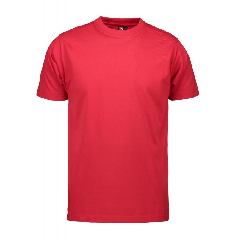 Heute im Angebot: PRO Wear Herren T-Shirt 300 von ID / Farbe: rot / 60% BAUMWOLLE 40% POLYESTER