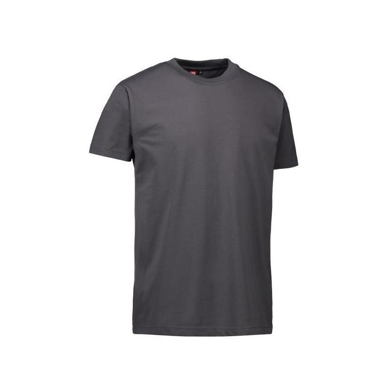 Heute im Angebot: PRO Wear Herren T-Shirt 300 von ID / Farbe: silbergrau / 60% BAUMWOLLE 40% POLYESTER